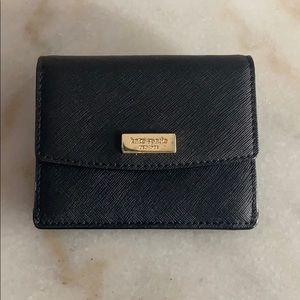 Kate Spade Pebble Leather Wallet and Key Fob